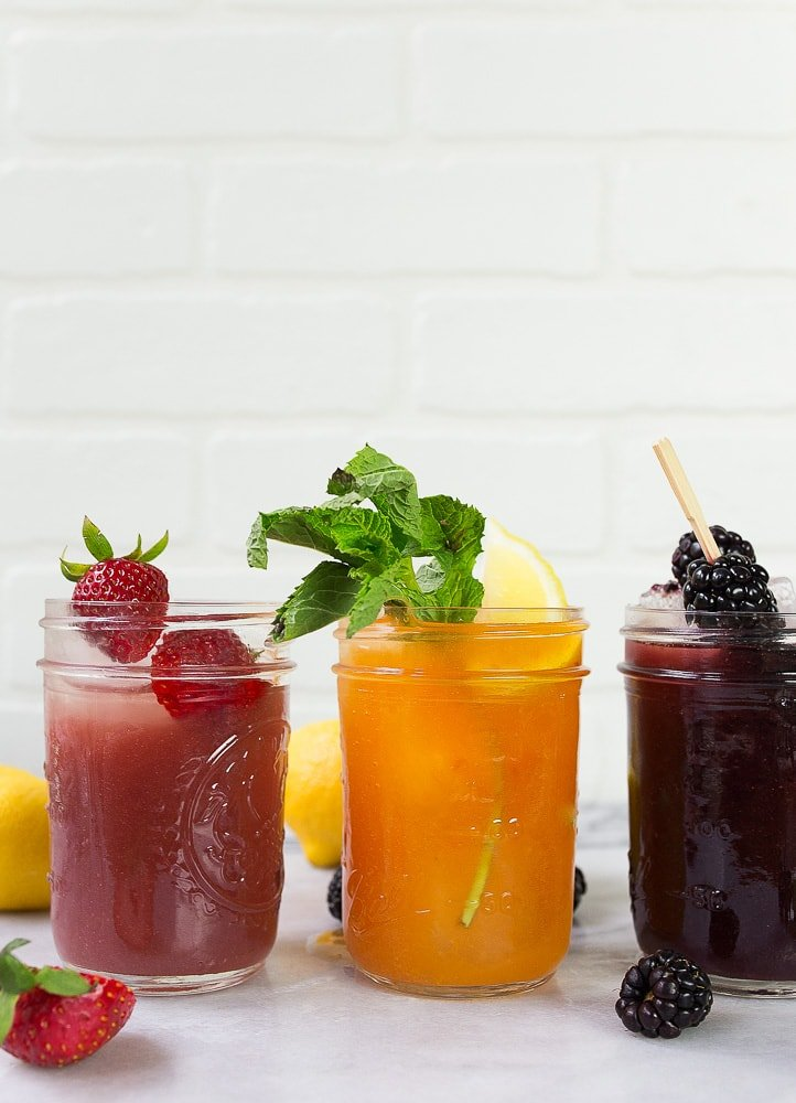 Jam cocktails made in a mason jar. Shake up your favorite flavors.
