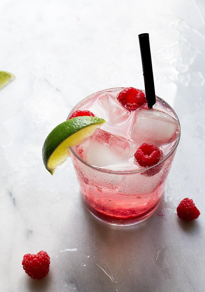 Fresh Raspberry Limeade | Dessert for Two