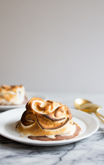 S'mores Mini Baked Alaska Recipe