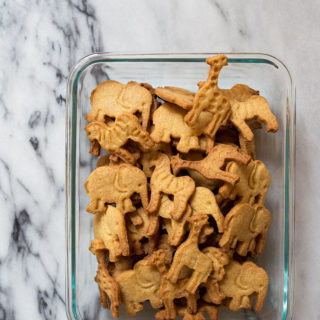 Homemade animal cracker cookies recipe. Uses freeze-dried corn and malt for 100% authenticity.