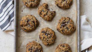 Vegan Chocolate Chip Cookies (small batch)