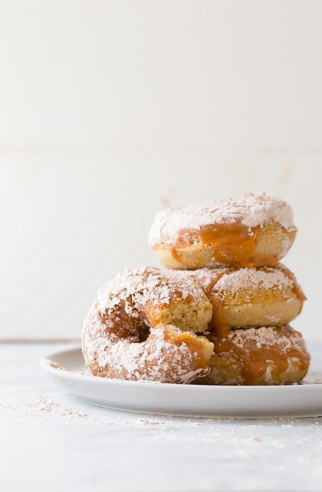 Cinnamon Caramel Amish Doughnuts