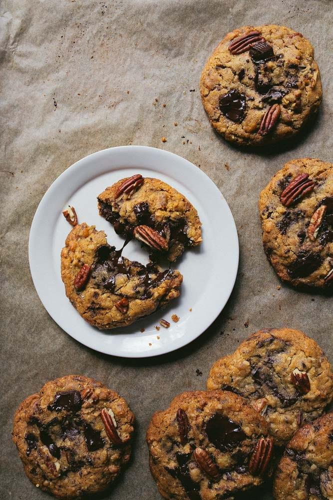 Ultimate Pecan Chocolate Chunk Cookies