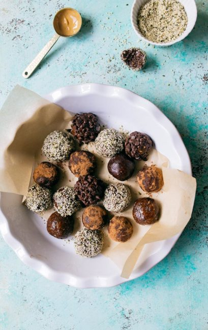 Omega 3 No Bake Energy Bites for Kids are a healthy snack idea