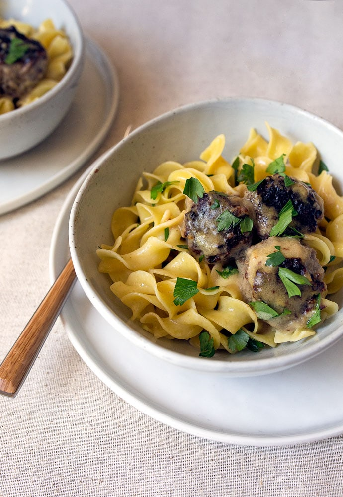 Copycat Swedish Meatballs for Two