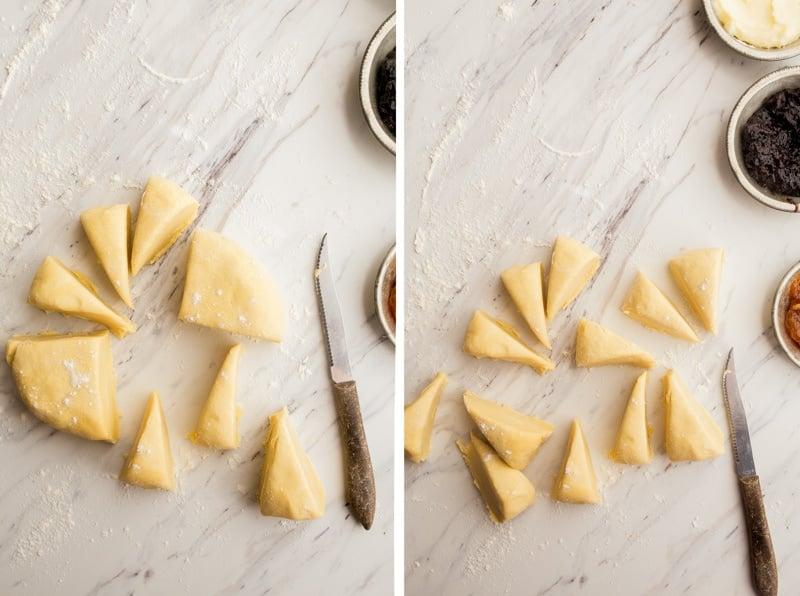 Authentic Czech Kolaches Recipe - small batch, makes 12 small kolaches