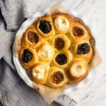 Authentic Czech Kolaches Recipe: with 3 fillings, cream cheese, apricot and prune.