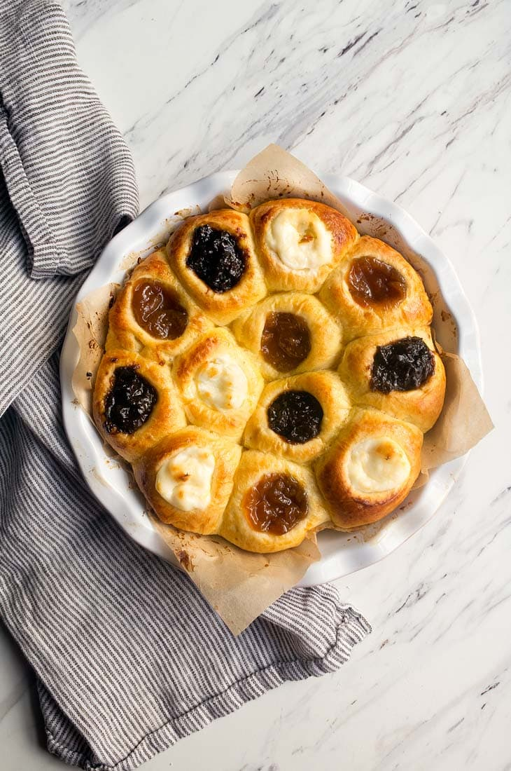 Authentic czech kolaches recipe dessert for two authentic czech kolaches recipe with 3 fillings cream cheese apricot and prune forumfinder Images