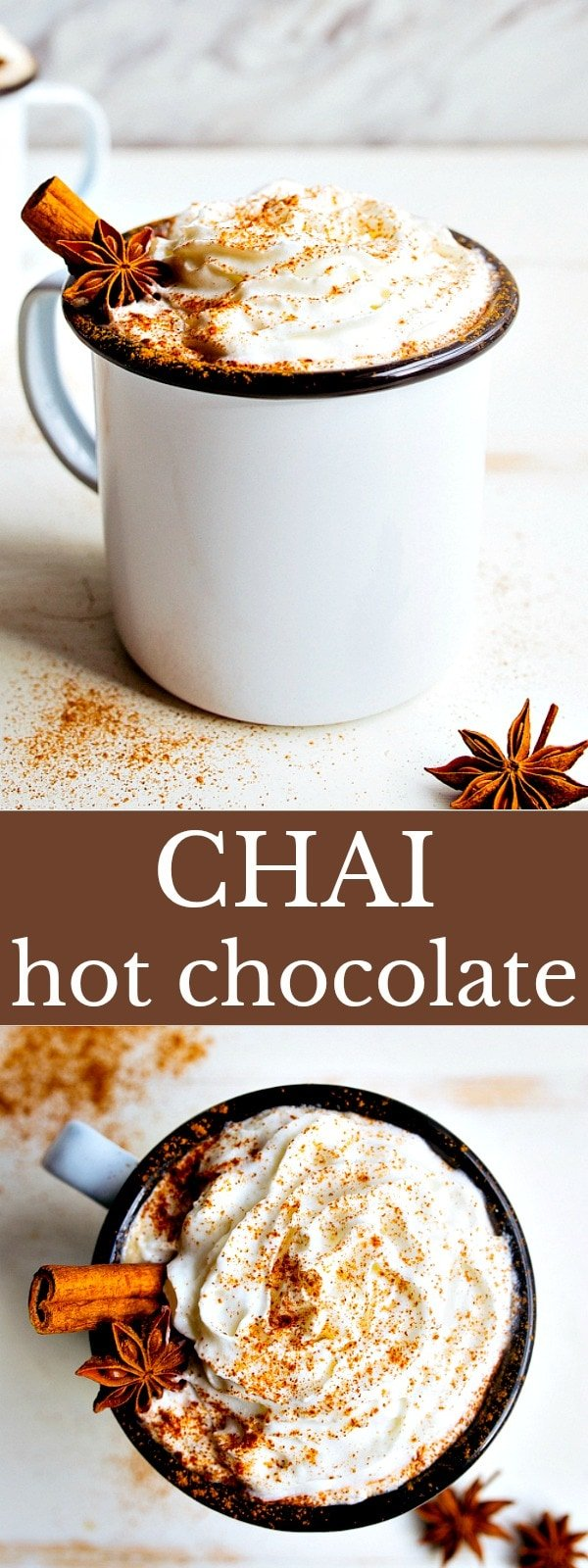 Chai Hot Chocolate Recipe for Two | Dessert for Two