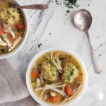 Instant Pot Chicken and Dumplings for Two