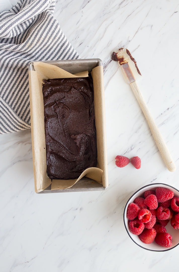 Raspberry Brownies for Two. Small batch brownies for two. Raspberry dessert for two. Valentine's Day chocolate dessert for two!
