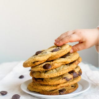 Malted Chocolate Chip Cookies Recipe. Small batch malted milk chocolate chip cookie recipe. Makes 6 cookies.