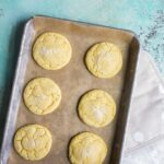 Small batch sugar cookies for two. Recipe makes just 6 cookies. No chill sugar cookies. No chilling time required for half dozen sugar cookies.