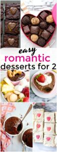 Easy Romantic Desserts for Two