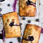 Mini Blueberry Hand Pies