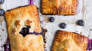 Mini Blueberry Hand Pies