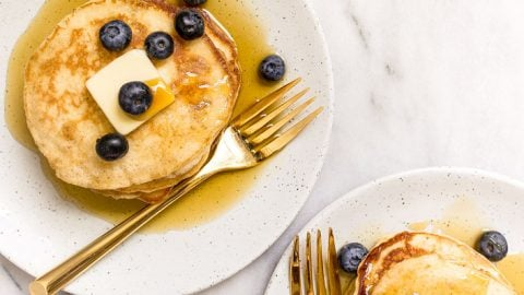 Pancakes for Two, small batch pancakes