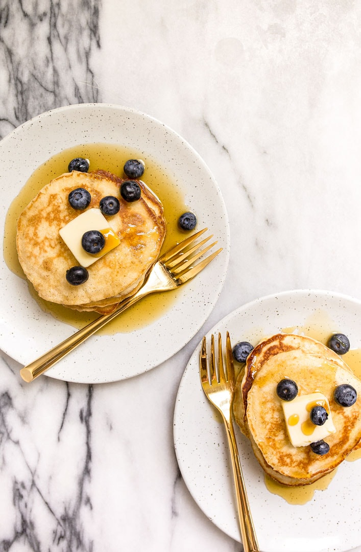 pancakes for two small batch of pancakes dessert for two