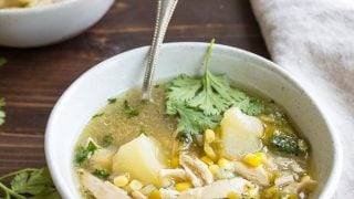 Green Chile Chicken Stew Hatch Green Chile Recipes