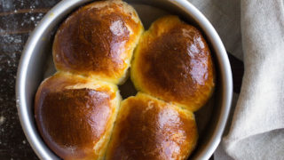 Small Batch Dinner Rolls
