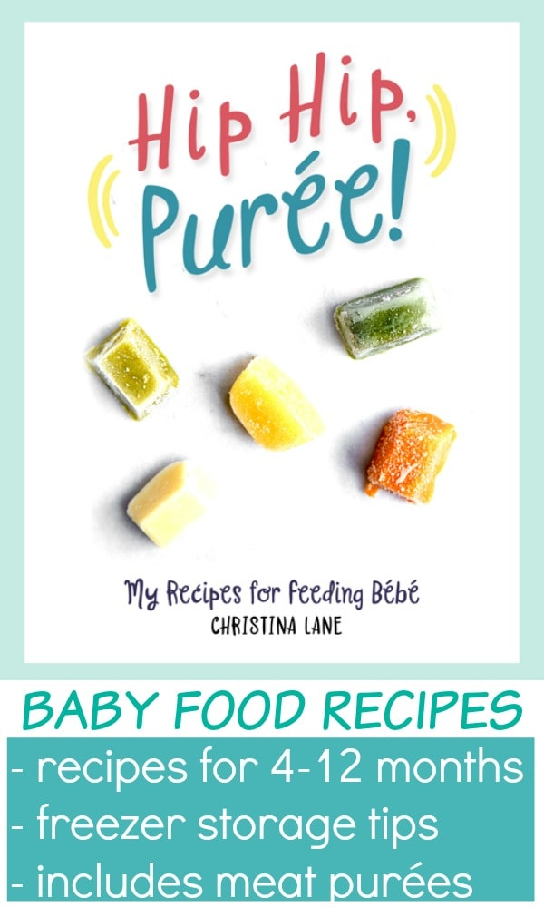 Homemade baby food recipes for first baby food purees. How to make baby food for stage 1 and stage 2 and beyond. Meat puree baby food for 6 month. Baby food 4 months, baby food 6-9 months. #babyfood #homemadebabyfood #babypurees #babyfoodstage1 #stage1 #stage2 #meatpuree #ironpuree #ironforbaby #lowiron #ironfoods #purees #firstfood #babypuree