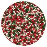 Christmas Nonpareils Sprinkles