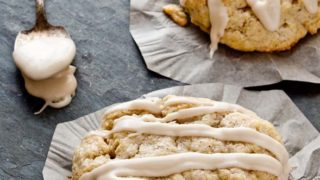 Black Pepper Scones with Maple Glaze
