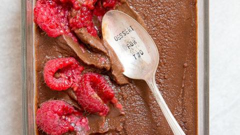 Chocolate Sorbet {vegan}