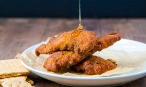 Graham Cracker Fried Chicken