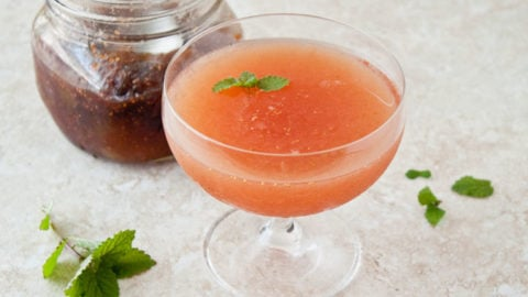 Fig Whiskey Cocktail