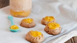 Lemon Ginger Thumbprints