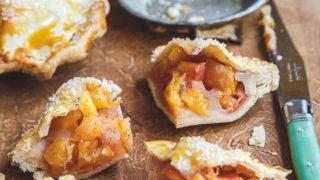 Mini Nectarine Vanilla Bean Pies