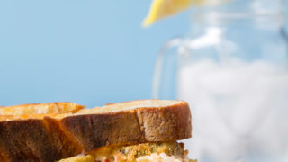 Pimento Grilled Cheese + Fried Pickles
