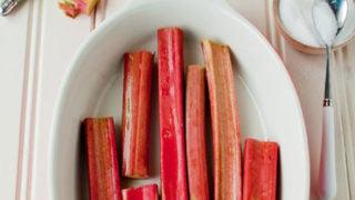 Rhubarb Moonshine Smash