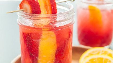 Jam Cocktails: Strawberry + Moonshine
