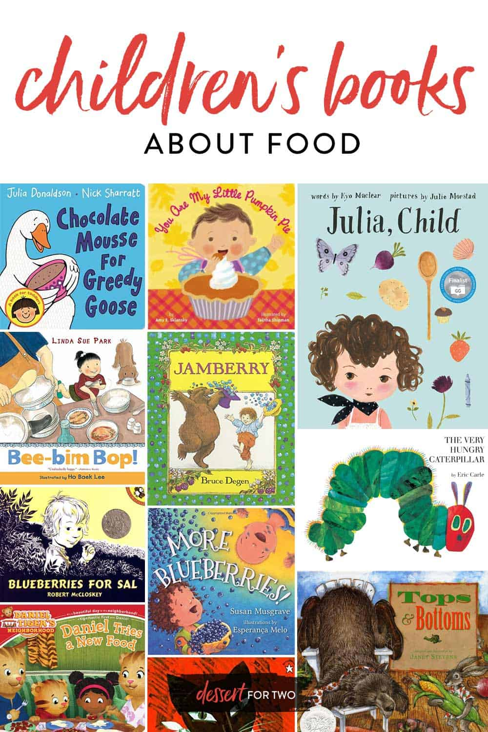 childrens books about food