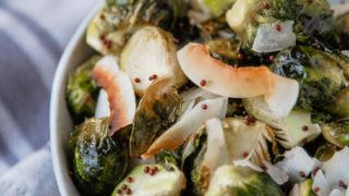 A Small Thanksgiving: Coconut Brussels Sprouts
