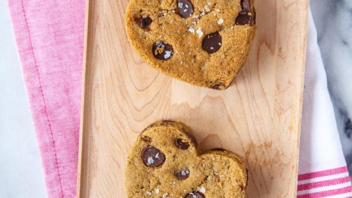 Lazy Girl Chocolate Chip Cut-Out Cookies