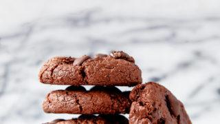 Chewiest Chocolate Cookies