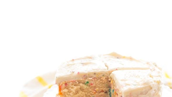 Mini Funfetti Cake