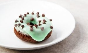 Mint Chip Donuts