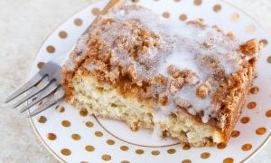 Yeasted Coffee Cake