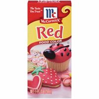 Red Food Color, 1 fl oz