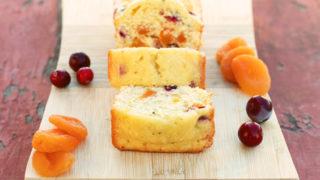 Cranberry Apricot Bread