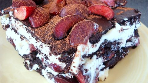 Black Forest Ice Box Cake