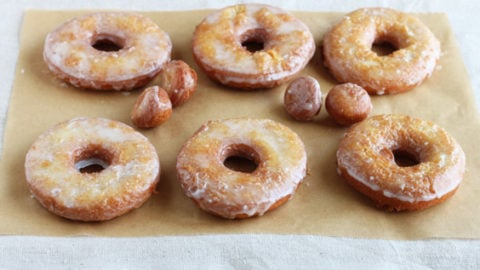 Half-Dozen Fried Donuts