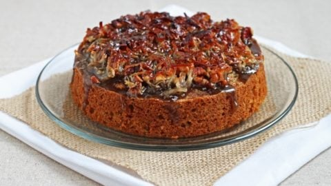 Glazed Oatmeal Cake
