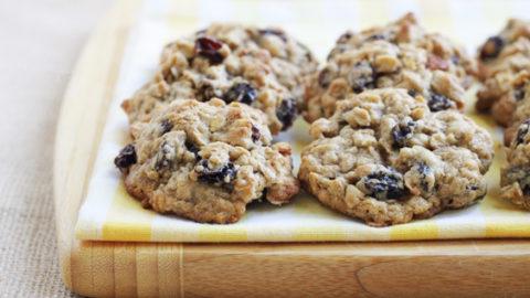 Rummy Oatmeal Cookies