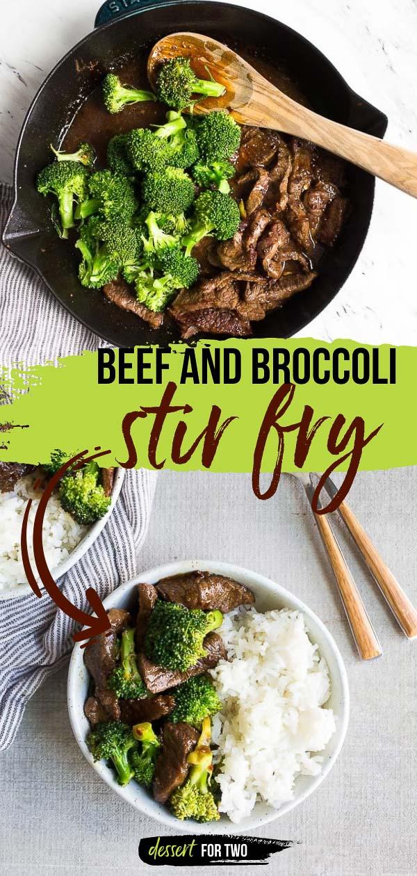 Beef and broccoli stir fry.