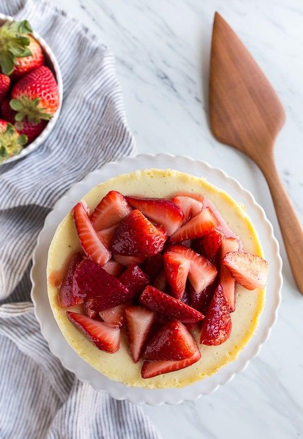 Instant Pot Mini Cheesecake Recipe